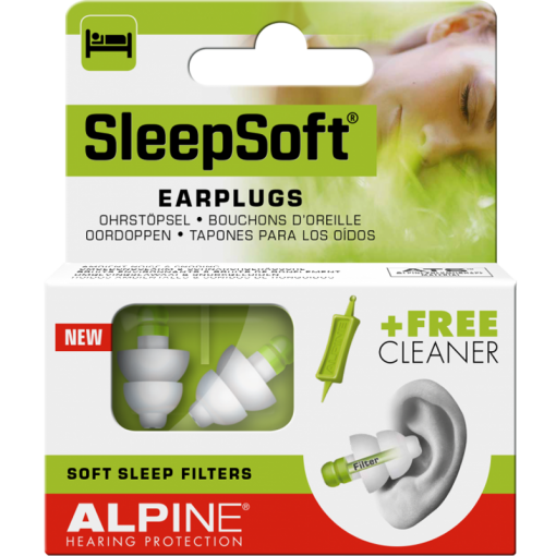 Dopuri de urechi pentru somn SleepSoft