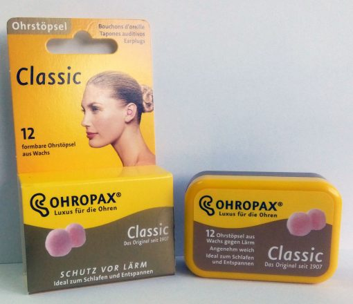 Dopuri de ceara pentru urechi Ohropax