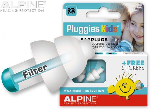 Dopuri de urechi pentru copii PluggiesKids cu filtru