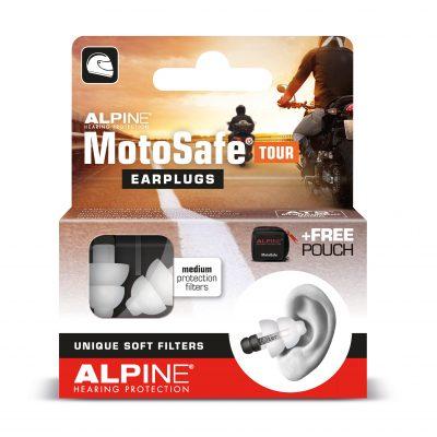 Dopuri de urechi moto MotoSafe® Tour pentru calatorii si vacanta