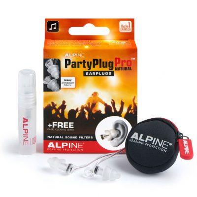 Dopuri de urechi pentru concerte PartyPlug Pro Natural