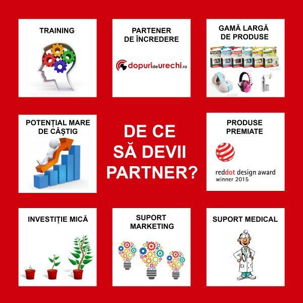 Doriți să deveniți partener dopurideurechi.ro?